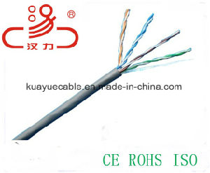 Utpcat5e Network Cable/Computer/Hanli Cable pictures & photos