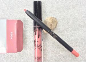 Lip Matte Lipgloss Kit Lip Liner Pencil Pen Liquid Lipstick Set Lip Stick Lip Gloss Lips Women Makeup Tool pictures & photos