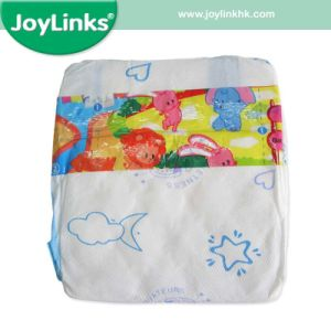 Soft Touch Ultrathin Baby Diaper, Elastic Waistband Printed Magic Tape pictures & photos