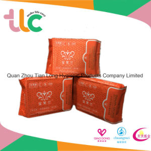 Ultra Thin Lady Anion Sanitary Napkin with Super Quality pictures & photos