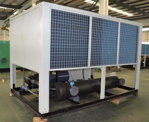 Air Cooled Screw Chiller and Heat Pump for Industrial Use pictures & photos