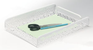 Modern Office Supplies/ Metal Mesh Stationery File Tray/ Office Desk Accessories pictures & photos