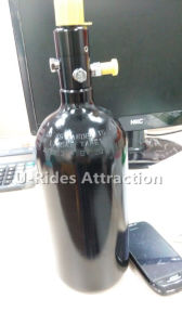Aluminum cylinder for paintball game pictures & photos