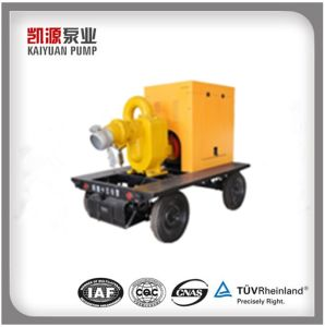 Kybc Farm Irrigation Movable Self-Priming Belt Driven Self Priming Pump pictures & photos