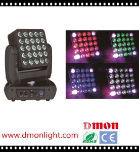 25 Head Moving Matrix Light 25*10W LED Moving Head Light