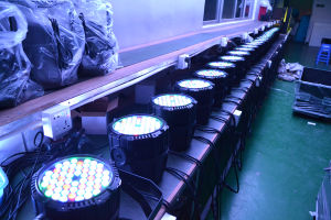 Wedding Decoration LED 54PCS Single Color or Full Color LED PAR Light pictures & photos