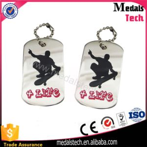High Quality Eco-Friendlymetal Skateboard Event Dog Tags pictures & photos