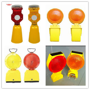 Barrier Portable Solar LED Traffic Road Safety Warning Light pictures & photos