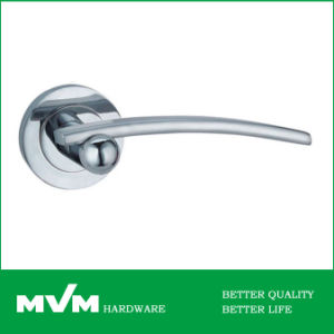 High Quality Zamak Rosette Door Lever Handle Z1243e3 pictures & photos