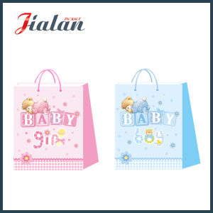 Customize with 3D & Glitter Baby Shopping Carrier Gift Paper Bags pictures & photos