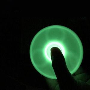 Luminous Tri Fidget Ceramic Ball Desk Toy EDC Stocking Stuffer Hand Spinner pictures & photos