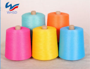 Dyed Ne 30s 20s Polyester Spun Yarn for Socks Knitting pictures & photos