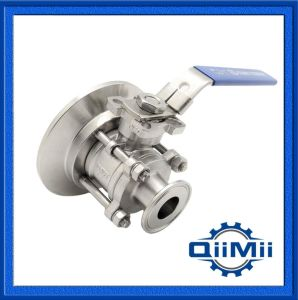 Stainless Steel 304 316L Manually Tank Bottom Ball Valve pictures & photos