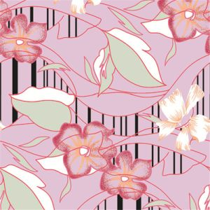 Digital Flower Printing Fabric Customized Textile Fabric (KQC-0026) pictures & photos
