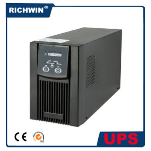 1kVA/2kVA/3kVA Pure Sine Wave Computer Online UPS with High Reliability and Performance, with Inbuilt Battery