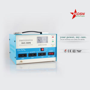 Newest Design 500va Single-Phase AC Voltage Regulator 230V pictures & photos