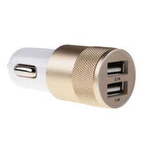 Aluminum Material 2 Port Universal Dual USB Car Charger pictures & photos
