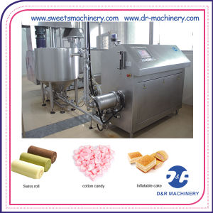 Layer Cake Production Line Cotton Candy Machine for Sale pictures & photos