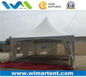6X6m High Peak Gazebo Marquee with Windows for Outdoor Activities pictures & photos