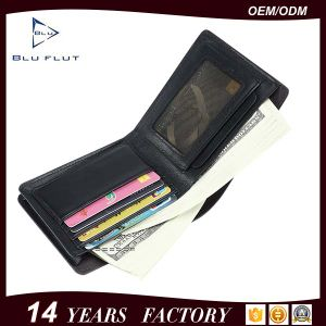 Real Soft Grain Leather Money Clip Card Holder Wallet with Multi Color pictures & photos