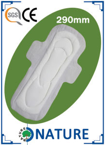 OEM Brand Thick Sanitary Pad with Fluff Pulp pictures & photos