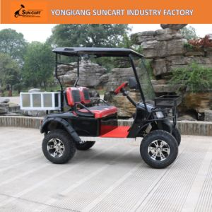 2 Seater Cheap Go Carts for Sale, 2 Passenger Golf Cart, 2 Person off Road Golf Cart pictures & photos