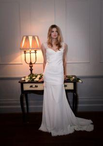 2017 Long Lace Bridal Wedding Dresses Wd1710 pictures & photos