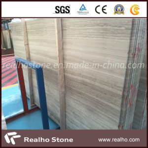 High Quality Polished White Oak Wooden Vein Marble with Floor Tile pictures & photos