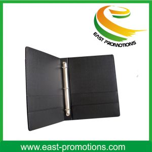 PU Leather File Folder Organizer with Notepad Holder pictures & photos