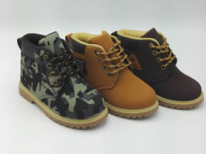 2017 Fashion High Help Unisex PU Boots with Factory Price