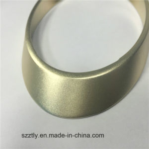 6063/6061 Aluminum Extrusion Anodized Oval Shape Profile pictures & photos