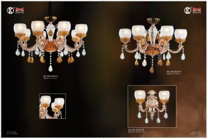 Nordic Golden Zinc Alloy Simple Chandelier Light pictures & photos