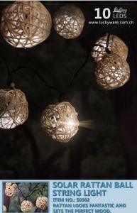 Solar Lantern Ball String Light pictures & photos