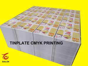Printing Tinplate of Different Thickness with Customer′s Design pictures & photos