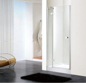 Bathroom 8mm Glass Hinge Door Shower Enclosure (BN-HD80) pictures & photos