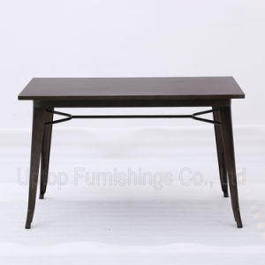 Metal Retro Style Industrial Table and Chair for Cafe (SP-CT765) pictures & photos