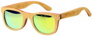 Cheap Wholesale Handmade Bamboo Sun Glasses with Polarized Lens pictures & photos
