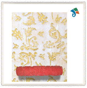 Wooden or TPR Handle Pattern Paint Roller for Wall Decoration pictures & photos