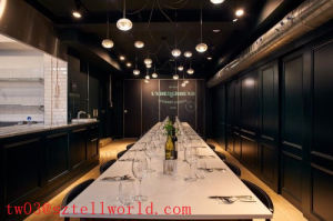 Modern Design White Commercial Dining Table Acrylic Dining Table and Chairs pictures & photos