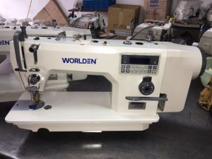 Wd-8880-4D High Speed Direct Drive Computer Lockstitch Machine pictures & photos