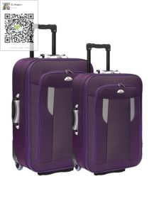 Shandong Silk Fabric Trolley Case Outside Case pictures & photos