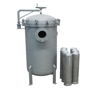 Stainless Steel Bag Filter Housing 0.5um Liquid Filtration Water Purifcation pictures & photos