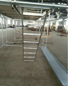 Factory Price Steel Plank Euro Type for Ringlock Scaffolding pictures & photos