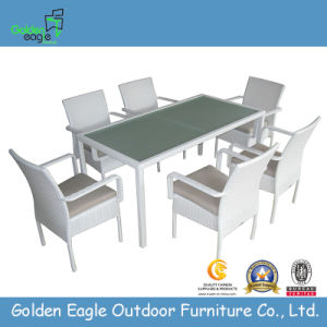 7PCS Dining Set Garden Furniture with Armchair Fp0020