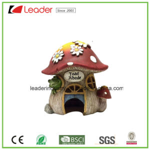 Decorative Hand Painted Resin Mushroom Figurine for Indoor and Outdoor Decoration pictures & photos