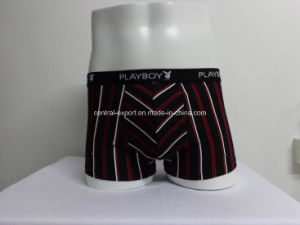 Cotton Spandex Boxer Mens Underwear Mauture Men Brief pictures & photos