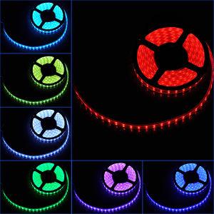 RGB LED Light Strip 5m SMD3528 RGB Flexible LED Strip pictures & photos