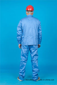 65% Polyester 35%Cotton Long Sleeve High Quolity Cheap Safety Shirt & Pant (BLY2004) pictures & photos