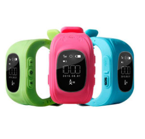 Kid Wristwatch Q50 GPS Tracker Anti-Lost Sos Smartwatch for Ios Android