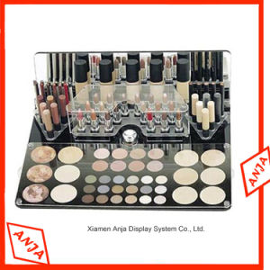 Acrylic /Wooden/MDF/ Cosmetic & Make-up Organizer/Display Stand/Display Rack for Shop pictures & photos